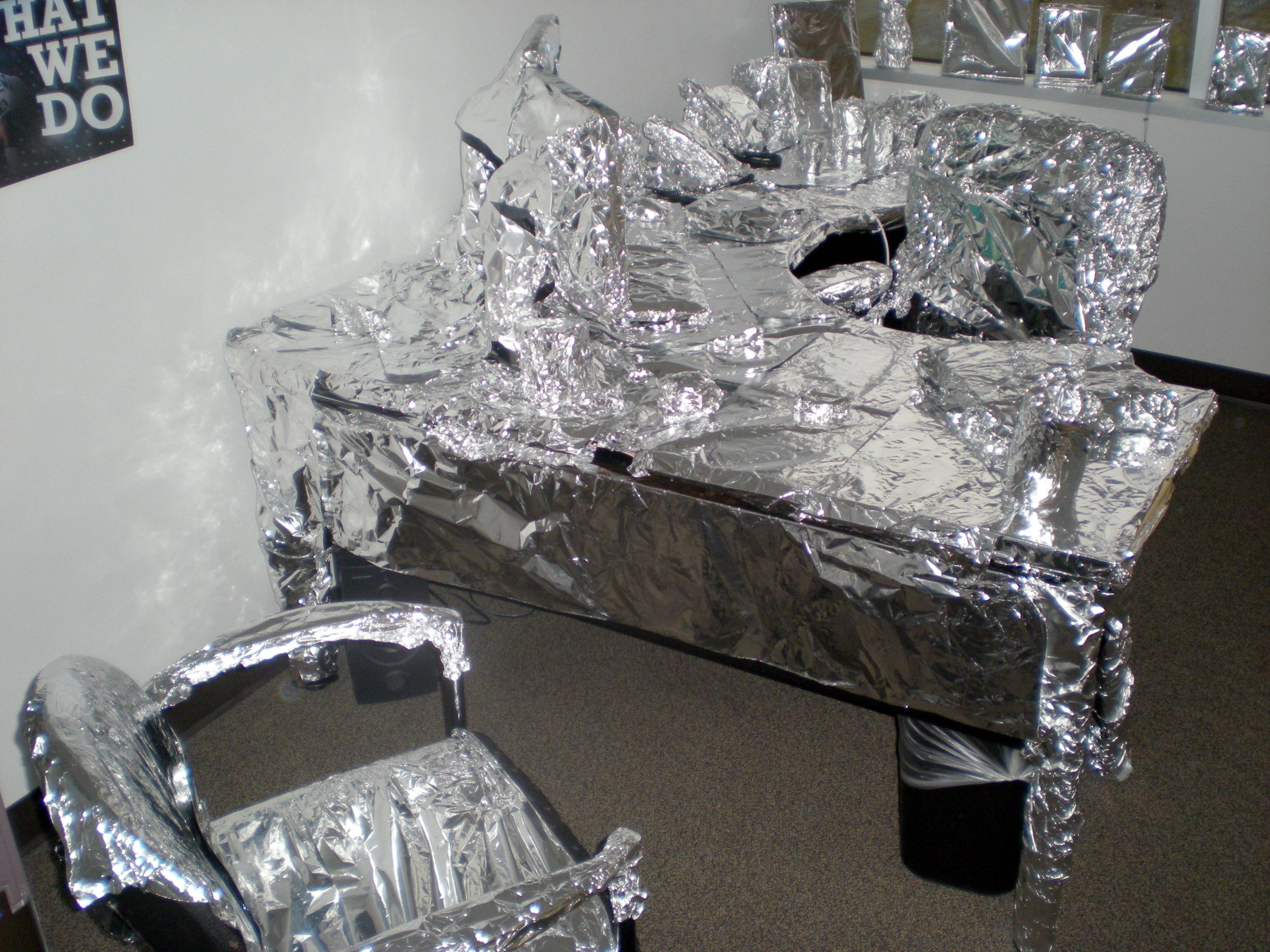 Aluminiumfolie vergeten…